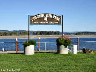 Image, 2006, Columbia View Park, St. Helens, Oregon, click to enlarge