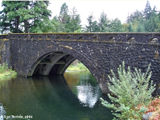 Image, 2006, Eagle Creek Bridge, click to enlarge