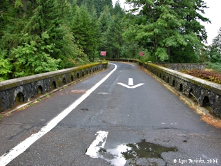 Image, 2006, Historic Columbia River Highway, Eagle Creek, Oregon, click to enlarge