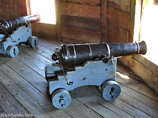Image, 2006, Bastion, Fort Vancouver, Washington, click to enlarge