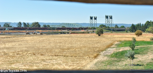 Image, 2006, View from Bastion, Fort Vancouver, click to enlarge