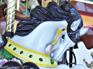 Image, 2006, Jantzen Beach Carousel, Oregon, click to enlarge