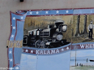 Image, 2006, Kalama Mural, Kalama, Washington, click to enlarge