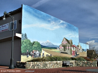 Image, 2006, Mural, Fourth Plain, Orchards, click to enlarge