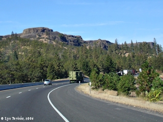 Image, 2006, Rowena Crest and Interstate 84, click to enlarge