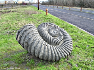 Image, 2006, Sculpture, Smith Lake, Oregon, click to enlarge