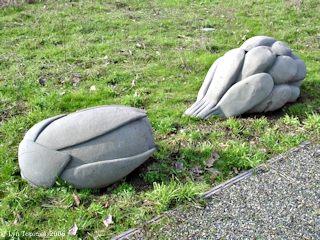 Image, 2006, Sculptures, Smith Lake, Oregon, click to enlarge