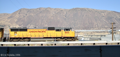 Image, 2006, Union Pacific 4105, click to enlarge