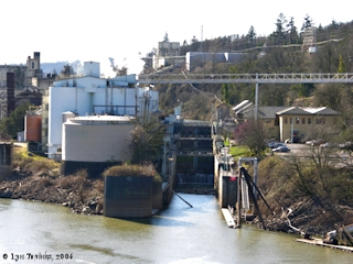 Image, 2006, Willamette Falls Locks, click to enlarge