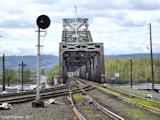 Image, 2007, Railroad Bridge crossing the Columbia at Vancouver, click to enlarge