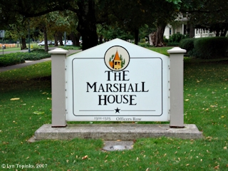 Image, 2007, Marshall House on Officers Row, click to enlarge