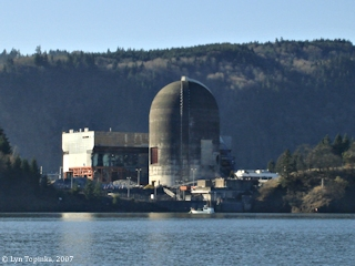 Image, 2007, Trojan Nuclear Facility, Oregon, click to enlarge