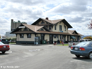 Image, 2007, Vancouver Station, Vancouver, Washington, click to enlarge