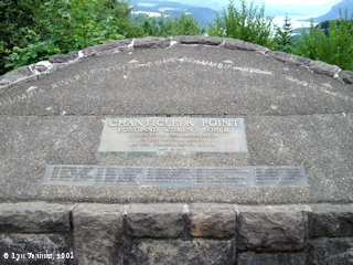 Image, 2008, Portland Women's Forum Scenic Viewpoint Sign, click to enlarge