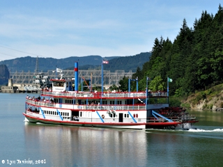 Image, 2008, Cascade Locks, Sternwheeler, click to enlarge