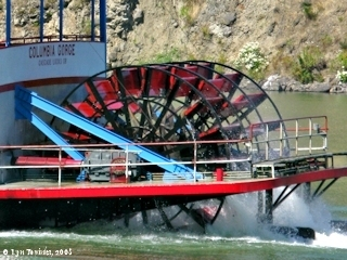 Image, 2006, Cascade Locks, Sternwheeler, click to enlarge