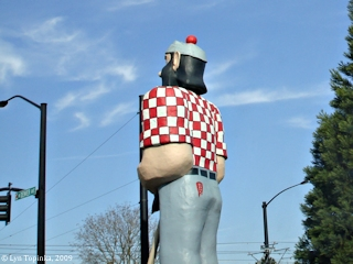 Image, 2008, Paul Bunyan, click to enlarge