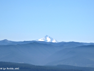 Image, 2008, Mount Jefferson from Larch Mountain, click to enlarge