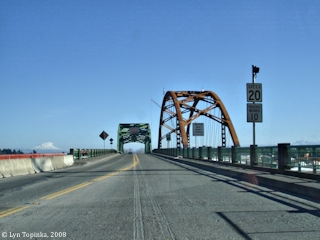Image, 2008, Sauvie Island Bridge, click to enlarge