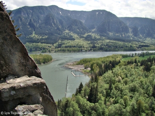 Image, 2009, Beacon Rock, Washington, click to enlarge