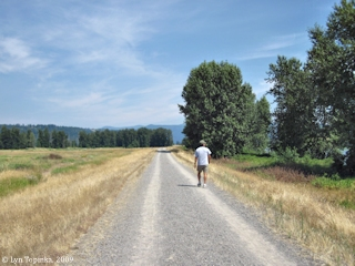 Image, 2009, Columbia River Dike Trail, click to enlarge