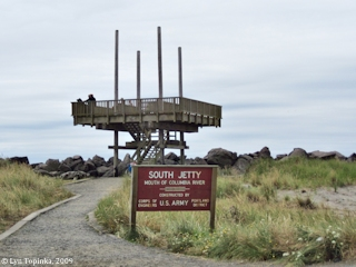 Image, 2009, South Jetty, Clatsop Spit, Oregon, click to enlarge