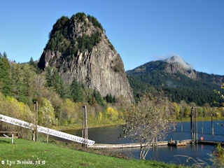 Image, 2010, Beacon Rock, Washington, click to enlarge