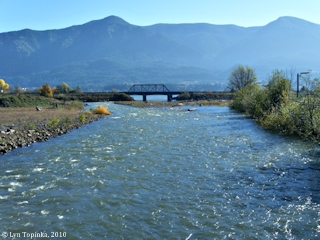 Image, 2010, Rock Creek, Skamania County, looking downstream, click to enlarge