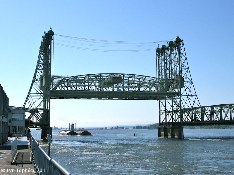 The Columbia River - Interstate 5 Bridge