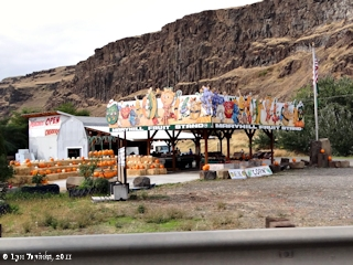 Image, 2011, Maryhill Fruit Stand, Washington, click to enlarge