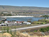 Image, 2011, The Dalles Dam, towards Washington