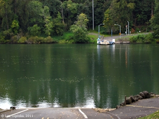 Image, 2011, Canby Ferry, Willamette River, Oregon, click to enlarge