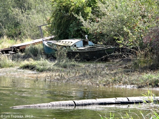 Image, 2012, Aldrich Point, Oregon, boat, click to enlarge