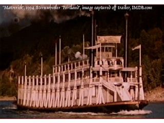 Image, 2012, Sternwheeler Portland, movie Maverick, click to enlarge