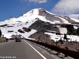 Image, 2012, Road to Timberline, Mount Hood, Oregon, click to enlarge