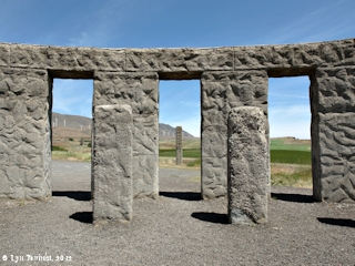Image, 2012, Stonehenge, Washington, click to enlarge