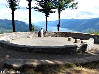 Image, 2013, Nancy Russell Overlook, Cape Horn, Washington, click to enlarge