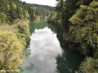 Image, 2013, Clackamas River, Estacada, Oregon, click to enlarge