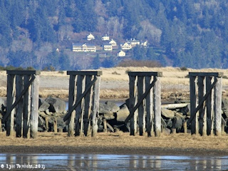 Image, 2013, Fort Columbia from Trestle Bay, click to enlarge