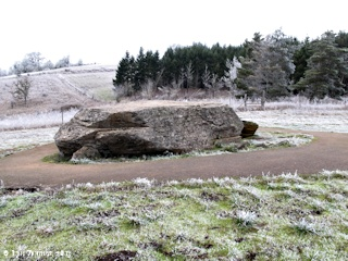 Image, 2013, Glacial Erratic, McMinnville, Oregon, click to enlarge