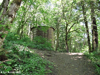 Image, 2014, Water Tank, Elowah Falls Trail, click to enlarge