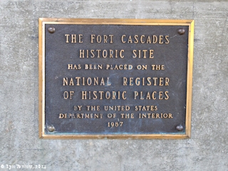 Image, 2014, Fort Cascades kiosk, click to enlarge