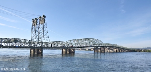 Image, 2014, Interstate-5 Bridge, Vancouver, Washington, click to enlarge