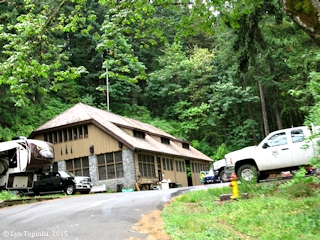 Image, 2015, Herman Creek Ranger Station, Oregon, click to enlarge