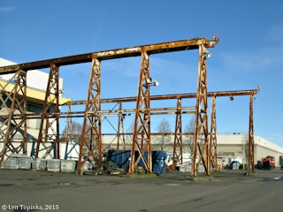 Image, 2015, Ryan Point, Kaiser Shipyard area, Vancouver, Washington, click to enlarge