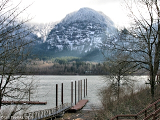 Image, 2015, Yeon Mountain from Skamania Landing, click to enlarge