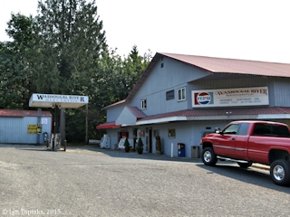 Image, 2015, Washougal River Mercantile at Canyon Creek Road, click to enlarge