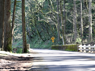 Image, 2016, Historic Columbia River Highway, Bridal Veil Bridge, Oregon, click to enlarge