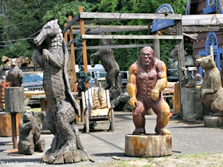 Image, 2016, Sasquatch, Canby, Clackamas County, Oregon, click to enlarge