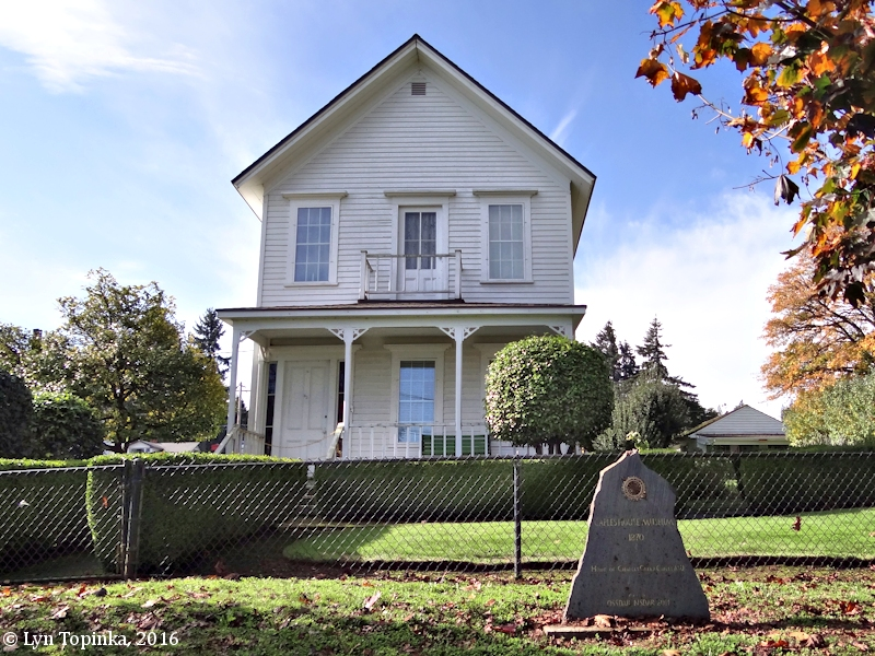 Image, 2016, Caples House, Columbia City, Oregon, click to enlarge